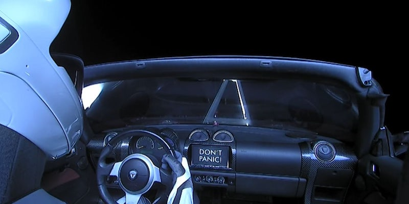 tesla-in-space-amazon-product launch-listing-promotion